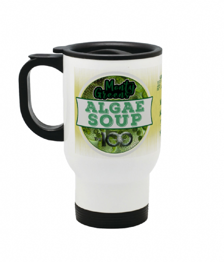 Monty Green's Algae Soup Drink Stainless Steel Travel Mug from The 100